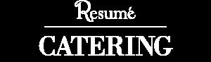 Resumé Catering Logo